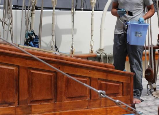 Przygotowanie jachtu